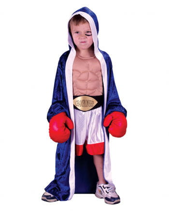 Boxing champion toddlers Costume