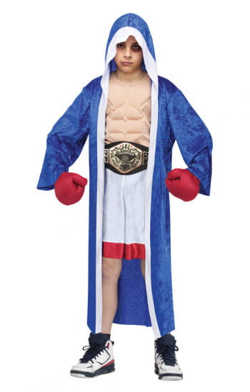 Boxing champion children costume