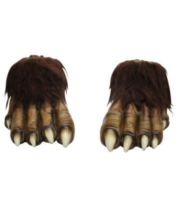 Werwolf Füße aus Latex
