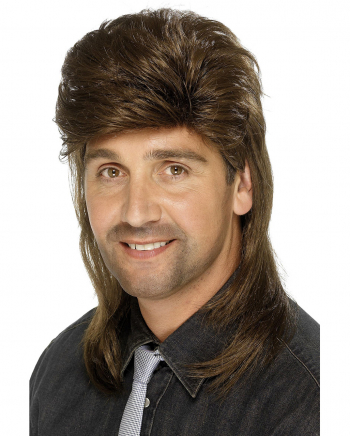 Brown Costume Culture Mens That 70s Guy Wig