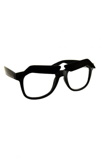 Hipsterbrille with eyebrows