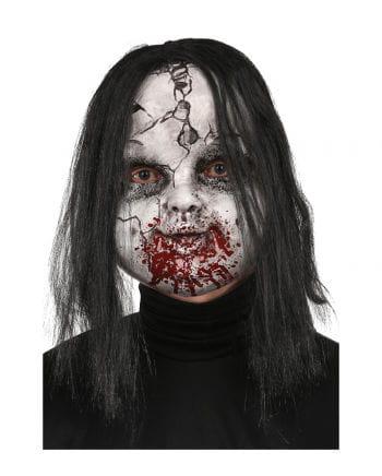 broken zombie doll maske horror masken g nstig online. Black Bedroom Furniture Sets. Home Design Ideas
