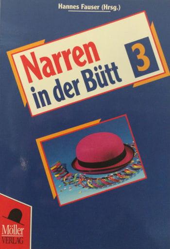 Book fools in the Bütt Volume 3