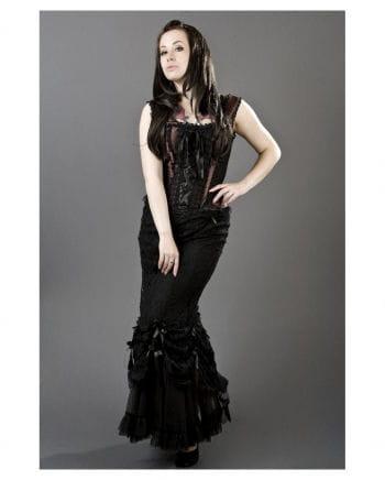 Burleska lace skirt black