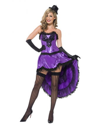 Burlesque Can-Can costume Violet