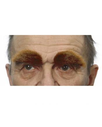 Selbstklebende Augenbrauen Braun
