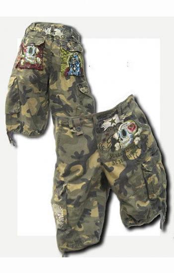 Camouflage Short SZ.36