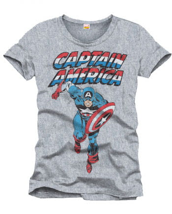 Captain America Men`s T-Shirt
