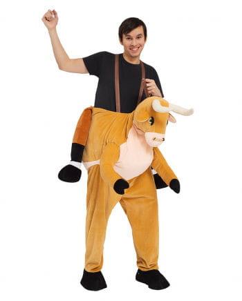 Reiter on bull Carry Me costume