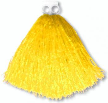 Cheerleader Pompon Gelb