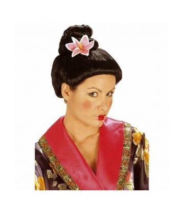 Japanese Percke with flower