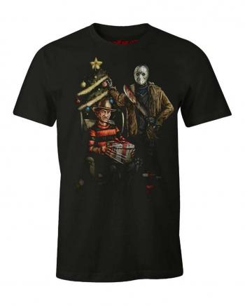Freddy & Jason Christmas T-Shirt