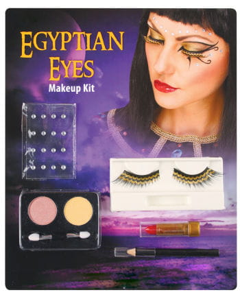 Cleopatra Augen Make-up Set