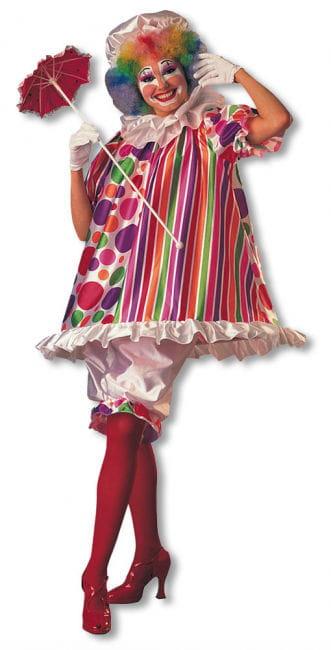 Clown Damenkostm