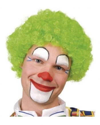 Clowns Perücke grün