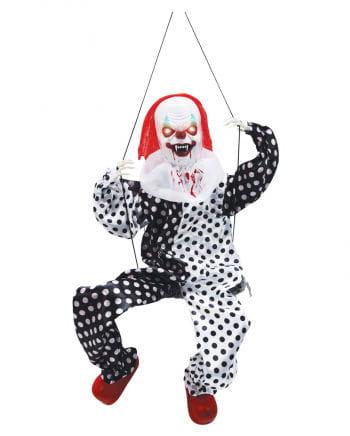 Clown auf der Schaukel Animatronic