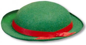 Clown Filzhut grün