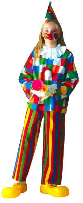Clown Child Costume 3 pieces