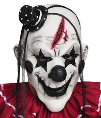 Clown Mask Black And White