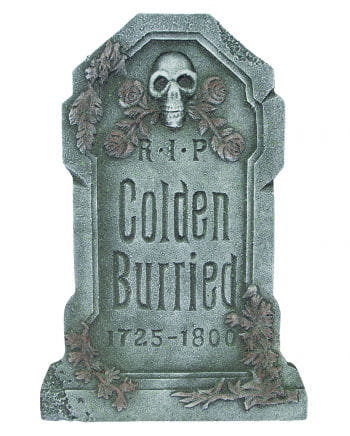 Colden Burried Halloween grave stone