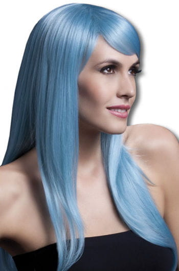 Sienna wig light blue