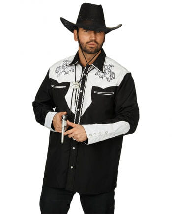 Cowboy shirt with embroidery