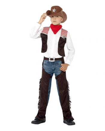 Cowboy Deluxe Child Costume