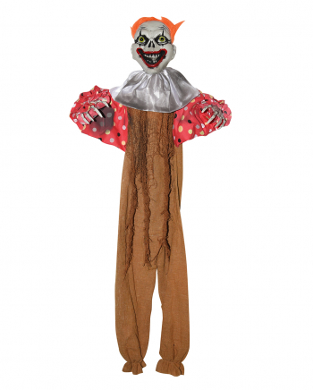 Creepy Clown Dekoration Braun
