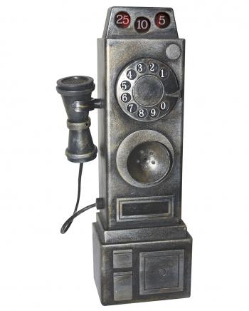Creepy Vintage Phone With Light & Sound