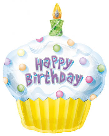 Cup Cake Foil Balloon XL