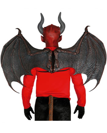 Demon Wings Made Of Latex 100 X 80 Cm