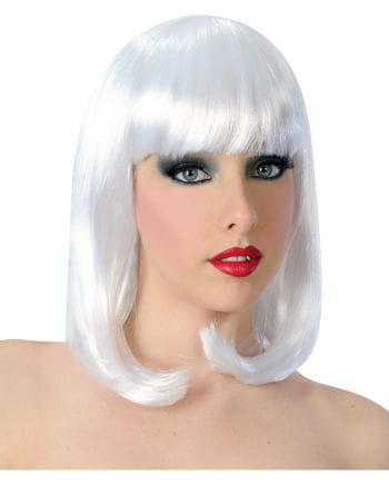 Revue Girl Wig With White Pony
