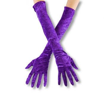 Violette, elbow-length gloves off