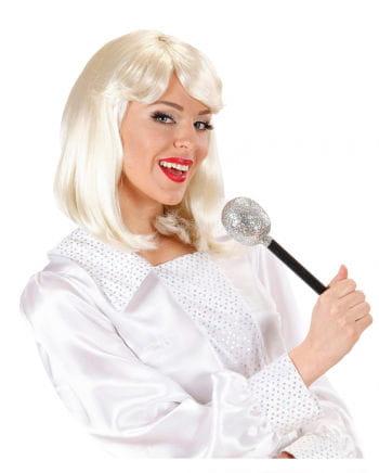 70s Popstar Lady's Wig Blond