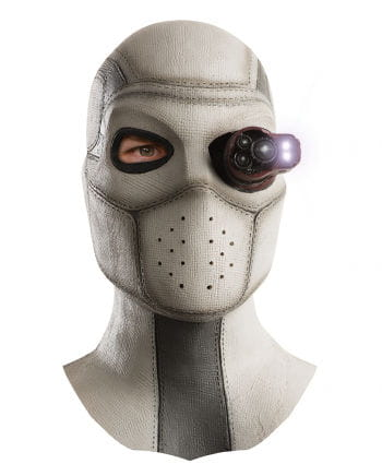 deadshot latex maske lizenz maske aus suicide squad horror. Black Bedroom Furniture Sets. Home Design Ideas