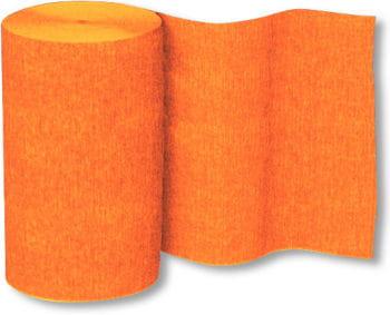 Decoration Crepe Ribbon Orange