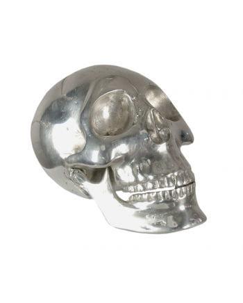 Deco skull small silver