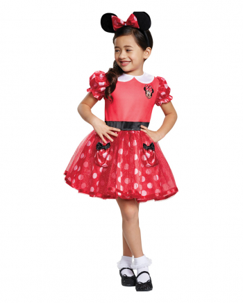 Minnie Mouse Kinder Kostümkleid Rot