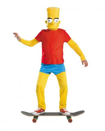 Bart Simpson Deluxe Kostüm für Kinder