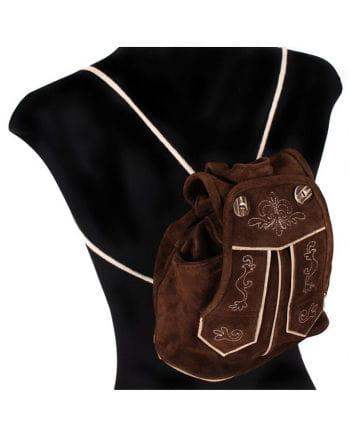 Light Brown Leather Sack