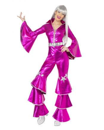 disco queen kost m pink glitzerndes 70er jahre disco. Black Bedroom Furniture Sets. Home Design Ideas