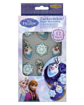 Disney Frozen Sugar Decoration 12 pcs