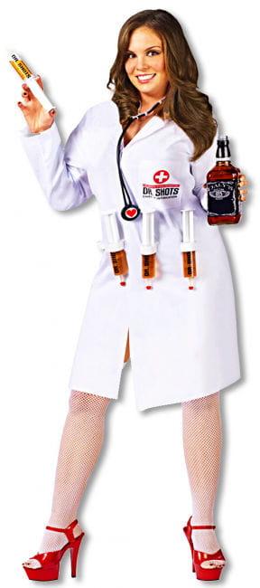 Dr. Shots Nurse Costume Plus Size