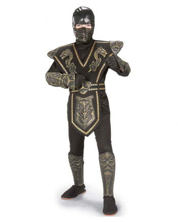 Gold Dragon Warrior Ninja Costume. L