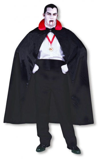 Dracula Cape with Red Collar