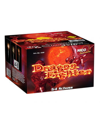 Dragon Fighter Battery Fireworks 64 Shot