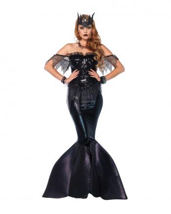 Dunkle Meerjungfrauen Königin Damen Kostüm