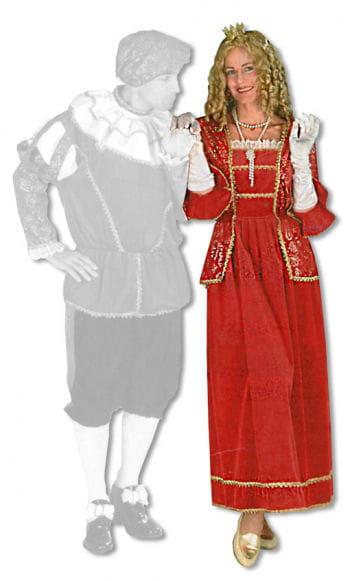 Edeldame Kostüm S/M 36-38