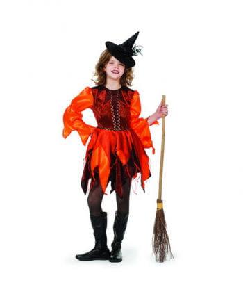 Orange Witch Costume