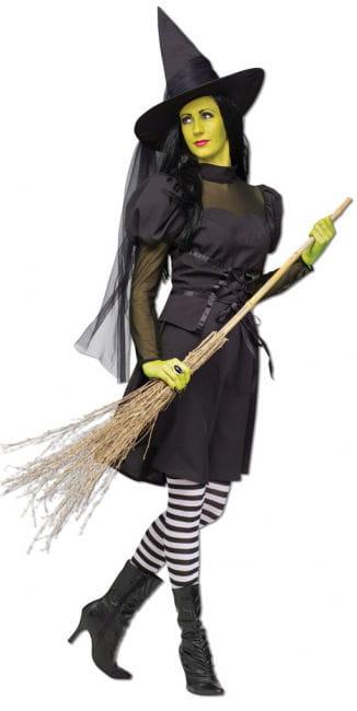 Wicked Hexen Kostüm mit Hut